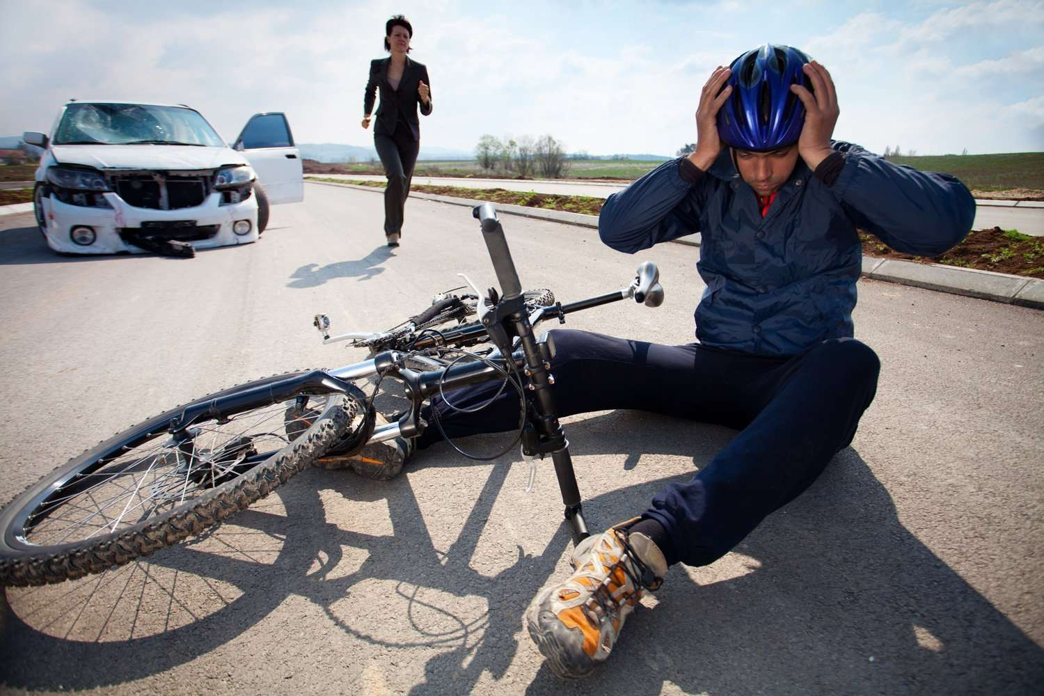 Personal Injury Bicycle rider injured